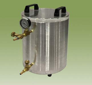"""Economy Round Vacuum Chambers In stock and available in 11 ID x 6"""" or 12"""""""