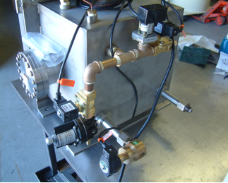 Side View of Vacuum System