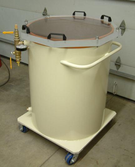 55 Gallon Drum Vacuum Chamber - Abbess