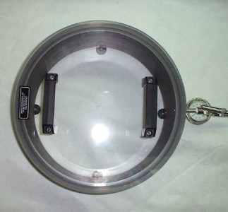 top view of medical grade vacuum chamber