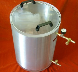 Vacuum Chamber, 5 Gallon 15 ID x 20 OD