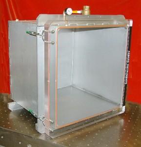 "Vacuum chamber, 24"" cube"