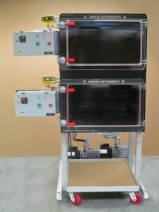 Dual altitude & atmosphere testing system with independent control of each system