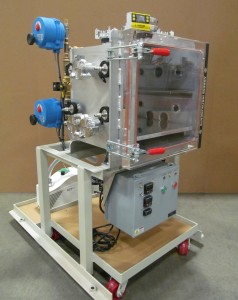 Satellite component thermal altitude test chamber