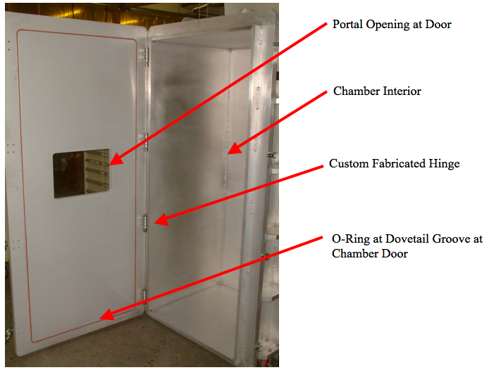 View of Vacuum Chamber System (Door Open)