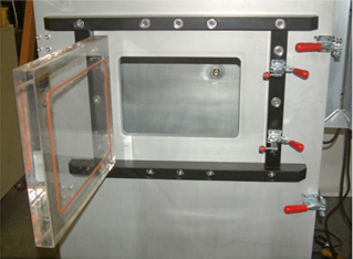 Figure 5: Large Altitude Test Chamber with Operable Acrylic Portal and PC Touch Screen VCC Package
