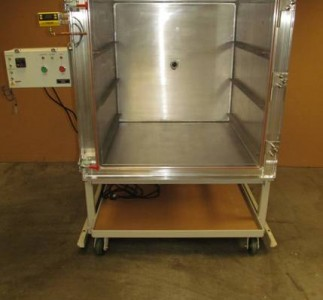 Front view of the standard altitude simulation chamber