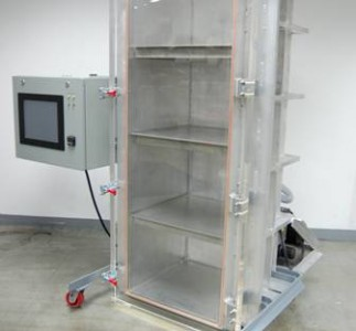 Large advanced altitude simulation system with Abbess's custom PC controller
