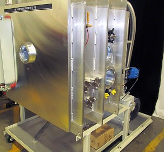 Large advanced altitude simulation chamber set up
