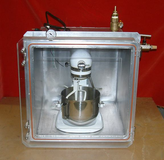 Azcsf on Heated Vacuum Chamber