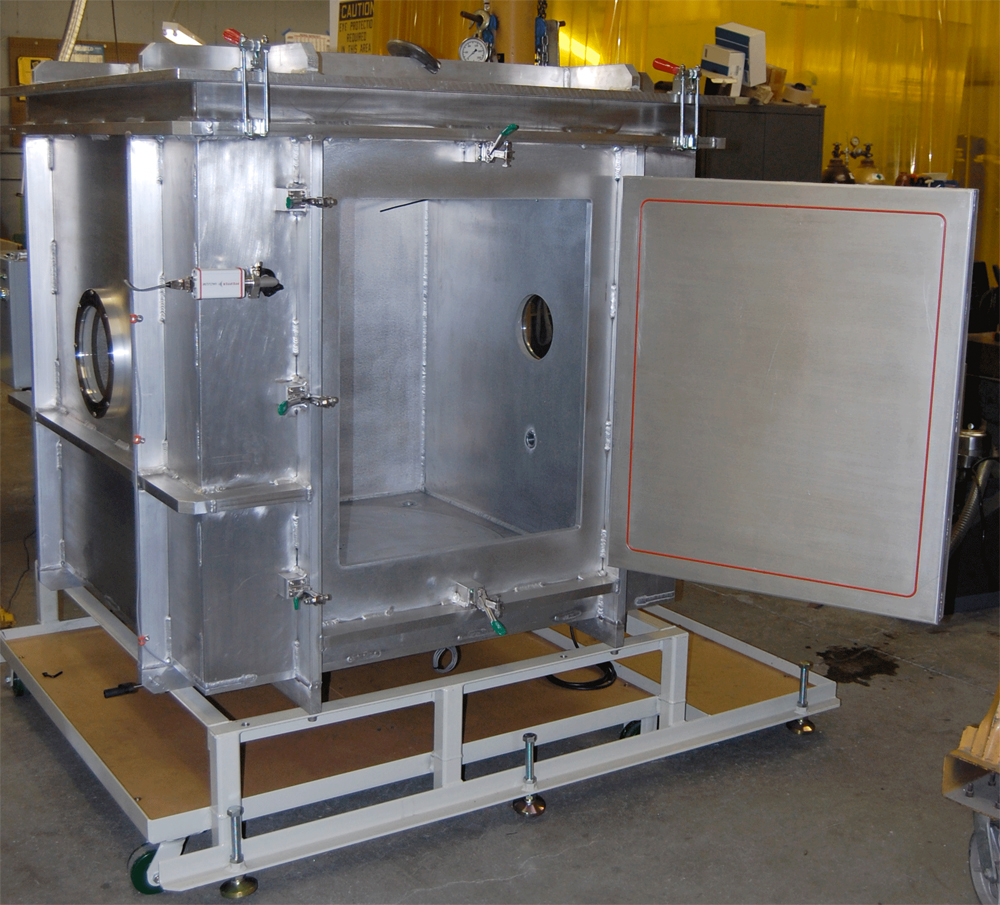 By Chambers: Top And Side Loading Vaccuum Chamber With Turntable