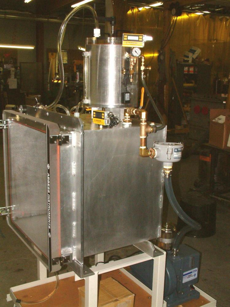 Manual Degas and Oil Fill System (analog VCC)