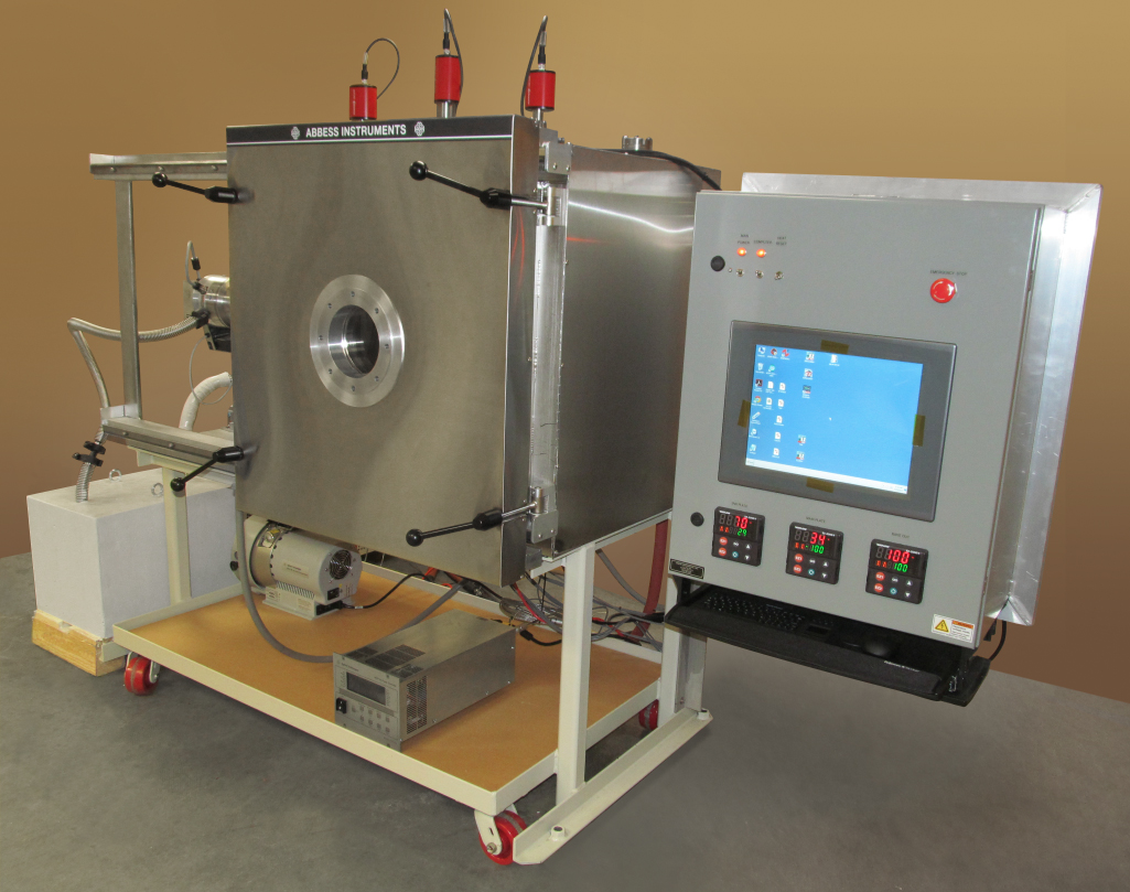 Thermal Vacuum Gas Mix Test Chamber - Abbess Instruments