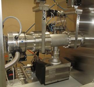 Gate valve manifold custom thermal gas mix test chamber
