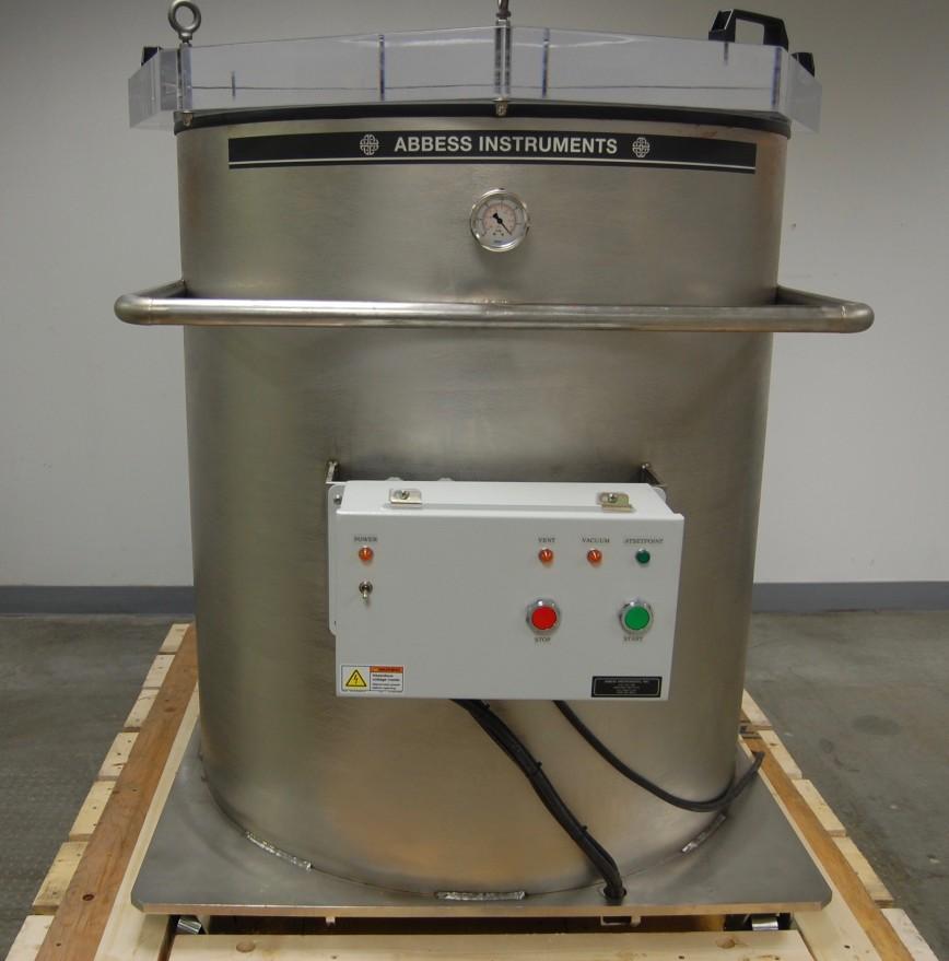 Stainless Steel 55 Gallon Drum Vacuum Chamber