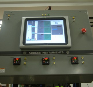 Controller of the thermal vacuum chamber