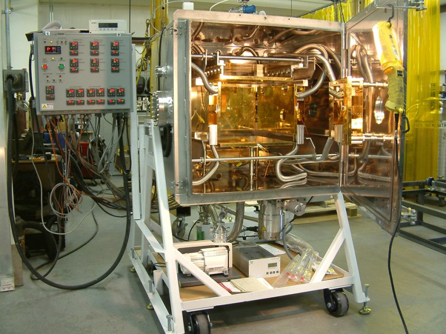 Complex thermal vacuum chamber used for space/altitude testing