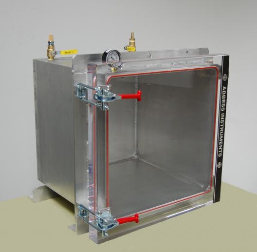 """Aluminum 18"""" stock chamber ready for shipment"""