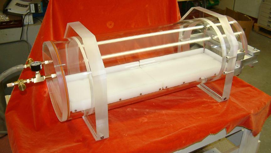 Acrylic Round Vacuum Chamber Abbess Instruments Vacuum