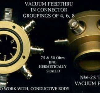 Vacuum Feedthru in Connector