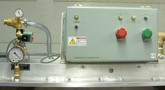Vacuum Regulator and Vacuum Cycle Controller