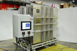 Large Satellite Testing System