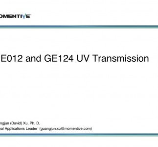 GE012 and GE124 UV Transmission-2011 (1a)