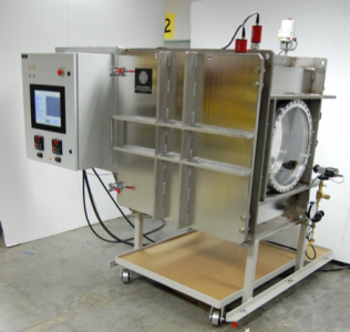 High Vacuum chamber with automated control and multiple viewing ports