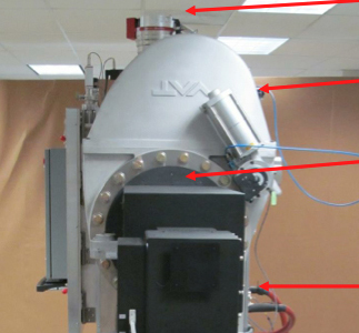 Figure 5- Right Side View of Thermal Vacuum System