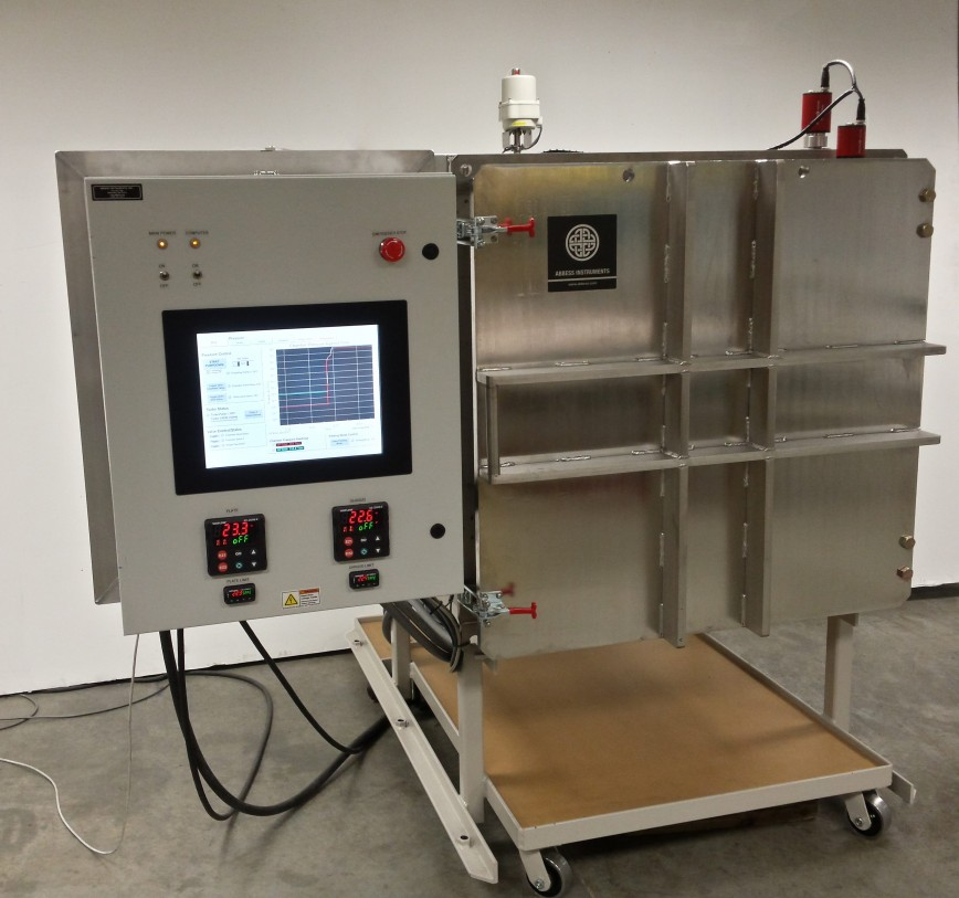 Thermal Satellite Testing Vacuum Chamber