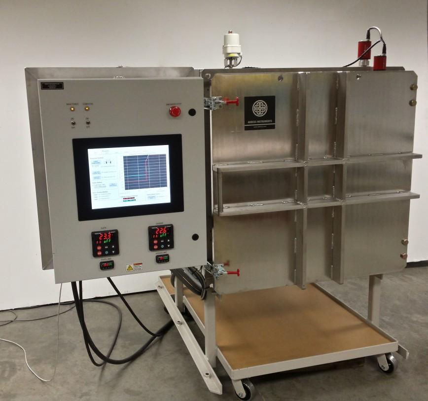 Thermal Satellite Testing Vacuum Chamber
