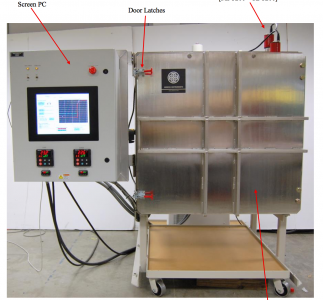 Thermal Vacuum System used for satellite testing
