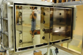 Thermal shroud of aeronautic component test system