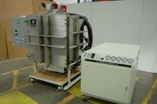Aeronautic component testing system